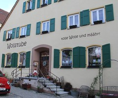 (:Linda:) Tags: wool shop germany bavaria town handmade franconia hilpoltstein woolshop funnylanguage