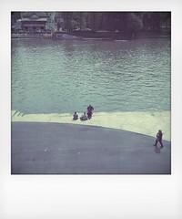 (punto e basta) Tags: cameraphone street urban color polaroid squared app iphone