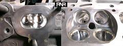Porting Cylinder Head 4G18T (RaceNotRice.com) Tags: proton waja portandpolish 4g18t