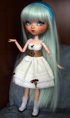 New dress! (Kalisan12) Tags: elina robe mio pullip fc nath steampunk lolie