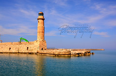 Rethymno's Lighthouse (Schynts Photography) Tags: world old city travel blue sea summer sky sun lighthouse hot nature water beautiful port photography high cool nikon warm europe colours photographer view coconut good wide kreta like palmer follow creta greece filter definition belgian hd effect awful grce discover saturate rethymno luminosity rethymnon crte d5200 nikond5200