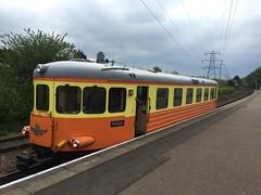 1212 at Peterborough Nene Valley (Northumbria Rail) Tags: diesel rail railway swedish railcar northumbria valley nene scania unit dmu railbus irps