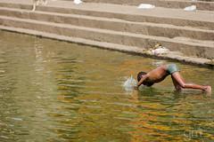1, 2, 3, Jump (-gunjan) Tags: poverty boy india pool swimming jump mumbai