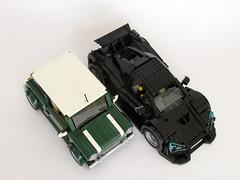 McLaren NSC (Marin Stipkovic) Tags: twins lego p1 roadster v12 kockice