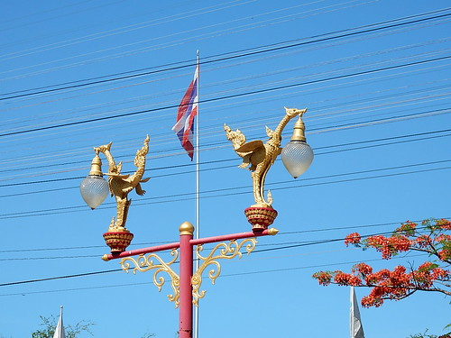 Thematic Street Lamps