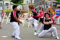 Karate Demonstration Skokie Illinois 4th of July Parade 2016 3727 (www.cemillerphotography.com) Tags: holiday kids illinois families celebration route politicians celebrities independence 4thofjuly clowns classiccars floats acts