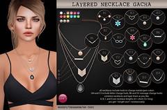 Layered Necklace Gacha (soon @ The Epiphany) (Izzie Button (Izzie's)) Tags: necklace sl epiphany gacha izzies