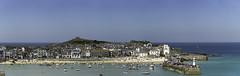 St Ives (Lloyd Hunt) Tags: stives cornwall english seaside harbour cornish fishingvillage cornishfishingvillage england summer sea coast blue sky beach holiday panorama nikon