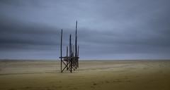 Art... at The Beach. (Jan Wedema) Tags: sfeer atmosphere dark clouds sigma ricoh pentax kunstzinnig kunst waddenkust art waddensea waddengebied mudflats landscape photographer photography janwedema jeeeweee