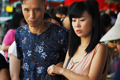 Yaumatei fruit market (Edvard Tam) Tags: hongkong street streetphotography yaumatei fruitmarket girl lady man asianfemale asian asiangirl asianwoman asianlady female