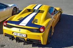 Aperta (Beyond Speed) Tags: ferrari 458 speciale aperta supercars automotive automobili auto nikon v8 yellow mugellocircuit mugello italy racetrack finalimondiali finalimondialiferrari
