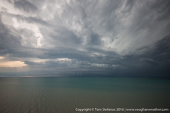 Moisture Fingers (Vaughan Weather) Tags: ca summer sky lake ontario canada storm water weather clouds skyscape landscape atmosphere thunderstorm convection huron meteorology southernontario severe severeweather outflow dashwood severestorm stormchase shelfcloud
