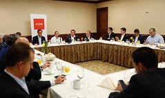 AEM Houston - desayuno con el secretario José Antonio Meade