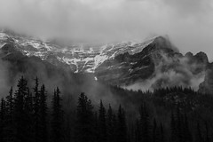 Cloudy Afternoon at Moraine Lake (Dawn Sulyma Smith) Tags: canadian banff beauty creative epic landscape mountain mountains nature outdoors rockies moraine lake national park outdoor could sky