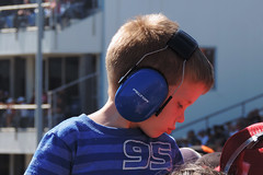Ennis - Small Guy, Big Headset (Drriss & Marrionn) Tags: blue boy usa cars car sport racetrack racecar kid texas outdoor vehicle autoracing ennis noise motorsports dragracing hotrods headphone motorsport nhra texasmotorspeedway topfuel prostock noiseprotection promodified peltor ennistx texasmotorplex nhranationals championshipdragracingseries