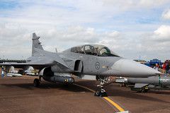 Saab JAS-39D Gripen Swedish Air Force 39821 (NTG's pictures) Tags: fairford riat2016 display tattoo show aircraft military jets fighter saab jas39d gripen swedish air force 39821