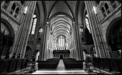 East Liberty Presbyterian Church-Altar View (CallihanImages) Tags: efs1018mmf4556isstm efs1018mm 10mm efs wide canoneos70d canon70d canon 70d church pittsburgh pa pennsylvania eastlibertypresbyterian east liberty blackwhite