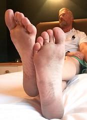 Feet Soles 5. (silvpix) Tags: feets soles feet man guy shine dirtyfeet barefeet barefoot