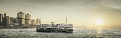 The Star Ferry (hokkeiv) Tags: hongkong ferry landscape outdoor nikon d810 35mm fx 14g sunset