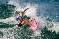 Alyssa Spencer (Kevin MG) Tags: usa huntingtonbeach orangecounty vans usopen surf surfboard surfer surfing girls junior semifinals teens young youth pretty cute professional wsl california
