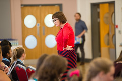 SpellingBeeFinal2016_km127 (routesintolanguages) Tags: uk wales kids modern competition aberystwyth using learning spelling welsh language foreign schoolkids talking schoolgirl schoolgirls pupil speaking vocabulary pupils spellingbee 2016 year7 europeaan wjec schoolkind langiages medrus