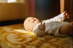 The Awakening Hour (lightmagic) Tags: baby toddler infant strong light sleeping crying