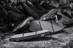 Worn Brake Pads (Jay  Den (Jayarr Denson)) Tags: nikond7100 100mmf28tokina blackwhite bw corrosion texture brakes mono monchrome blackandwhite monomonday