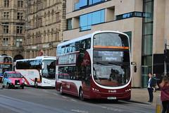 LOTHIAN BUSES 405 BN64CPK (bobbyblack51) Tags: lothian buses 405 bn64cpk volvo b5tl wright gemini eclipse 3 edinburgh 2016