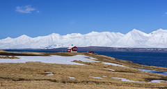 a day as fresh as the very first day ever (lunaryuna) Tags: iceland northiceland northcoast northfjords fjord landscape seascape mountainrange panorama solitaryfarm beauty solitude thecoloursoficeland spring season seasonalwonders seasonalchange lunaryuna pristinelandscapes