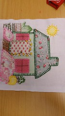 Tullie Textiles (delicate stitches) Tags: art textiles craft make sew embroider accessart patches houses beads tulliehouse museum gallery helenwalsh