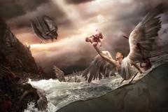 La Baie des Anges (Christophe Kiciak) Tags: angel angels bay bear cliffs death demons france nice ocean plush sea teddy terror terrorism toy waves wings