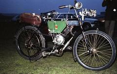 Unknown Reg: 756 GPB (bertie's world) Tags: sunbeam pioneer run 1979 epsomdowns motorcycles reg 756gpb