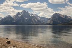 Mt Moran from Jackson Lake (democritus21) Tags: grandtetonnationalpark jacksonlake mountmoran wyoming grandteton wy usa
