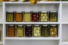 255/366 2016 The Kansas State Fair (lostsmitty) Tags: hutchinson kansas kansasstatefair sony sonya77slt canned domesticarts fruit vegetables