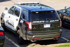 Marquette PD_P1120601 (pluto665) Tags: explorer suv piu squad car cruiser copcar mpd