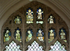two blessing saints and eight bishops (Simon_K) Tags: wiggenhall mary magdalene magdalen norfolk eastanglia