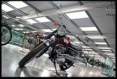 Triumph Trophy 500 (zweiblumen) Tags: triumphtrophy500 motorcycle classic motormuseum jurby jourbee isleofman ellanvannin hdr canoneos50d polariser zweiblumen photoshopcs4