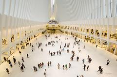 La nouvelle gare du world trade center (regis.muno) Tags: newyork manhattan nikond7000 usa station oneworldtracecenterstation white newstation