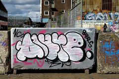 graffiti amsterdam (wojofoto) Tags: ndsm alure graffiti amsterdam wojofoto wolfgangjosten nederland holland netherland streetart