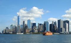 Staten Island Ferry and Lower Manhattan (kavpro) Tags: staten island ferry new york waterfront harbor manhattan lower