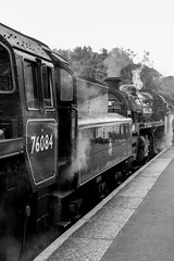 76084  76083 6 (scilly puffin) Tags: nymr northyorkshiremoorsrailway steamgala 76084 grosmont 76038