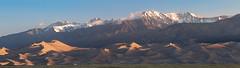 Great Sand Dunes Overlook (Matt Thalman - Valley Man Photography) Tags: snow mountains landscape nationalpark sand colorado unitedstates dunes sanddunes greatsanddunesnationalpark sangredecristomountains