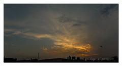 2707-08-09_Panorama1_#1 (Mir Faisal) Tags: pakistan light sunset landscape golden hour fields lahore mir faisal