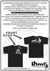 LKK t-skjorte INFO