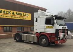 Cammack Scania (South Strand Trucking) Tags: tractor fog pipes foggy v8 unit cammackstransporthaulagewarehousedistributionlogistics