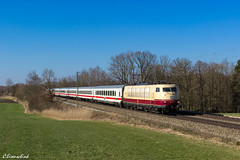 DB 103 245 mit IC Großglockner (TheKnaeggebrot) Tags: ic db ag 103 intercity kbs 950 245 grosglockner 103245 hilperting