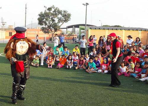 Presentando en Un Orfananto