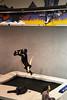 Mitra Trampoline snowboard backflip