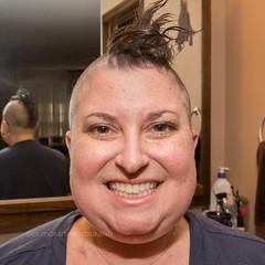 Mohawk (dmoranphotog) Tags: head cancer bald shaving chemo dlbcl