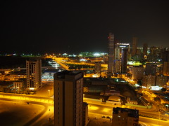 Kuwait by night.
